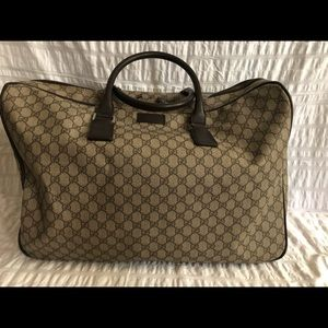 Authentic Gucci GG Monogram Luggage